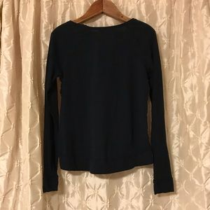 Abercrombie & Fitch Tops - Abercrombie & Fitch blue lace & Sequin tee